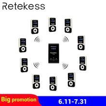 RETEKESS Беспроводной гид Системы FM Аудио Язык интерпретация Системы для Конференции церковный музей проведение экскурсий образования