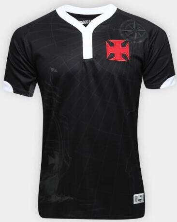 2019 2020 Hommes T-shirt branca Vasco para vasco da gama preto 19/20 Camiseta de futbol Camisa Lazer moda camisas navio Livre