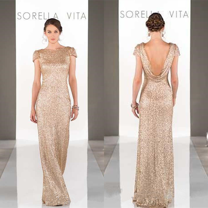 Compare Prices on Long Gold Bridesmaid Dresses- Online Shopping ...