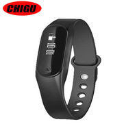 CHIGU C6 Smart Wristband Health Band Bracelet Clock Heart Rate Monitor Sleep Fitness Tracker Pedometer Smartband PK Mi Band 1s