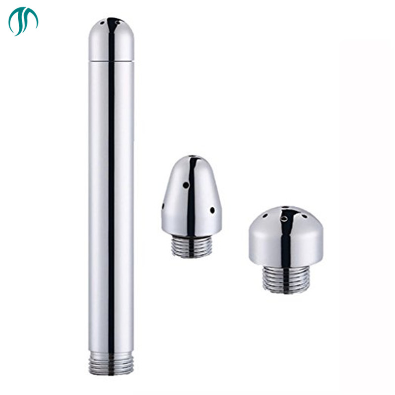 Modun Aluminum Enema Shower Head Vaginal Anal Faucet Enemator Bidet Toilet Colonic Douche System Cleaner Anus Douche Sex Tool image