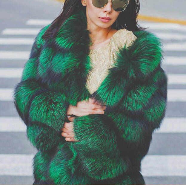 Tatyana Furclub Reale Cappotto di Pelliccia Naturale Pelliccia di Volpe cappotto di Pelliccia di Modo del Rivestimento Della Ragazza di Inverno Cappotto Femminile Per Le Donne Più Il Formato può su misura