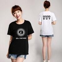 Fashion Kpop Bigbang Gd Taeyang Good Boy T Shirt Vips Supportive O Neck Short Sleeve Summer