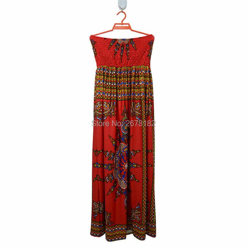 2018 африканские платья Женская одежда ограниченное по времени Специальное предложение полиэстер Африка печать одежда для ночного клуба