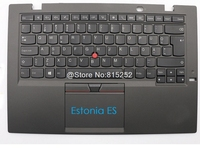 PalmRest Keyboard For Lenovo For ThinkPad X1 Carbon 3rd 2015 Belgium BE Estonia ES Kazakh AZ Lithuanian LT Cover Touchpad New