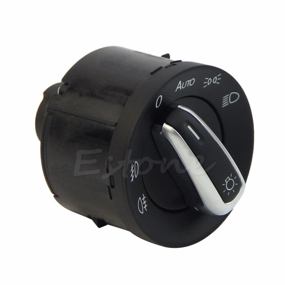 1x Headlight Switch Light 5ND 941 431A For VW Passat  Passat CC B6 - L057 New hot 3pcs oem black piano paint chrome car center console air condition vents for passat b6 b7 cc r36 3ad 819 701 a 3ad 819 702 a