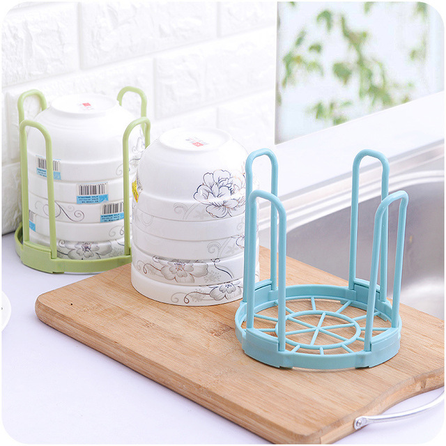 Kitchen Dinnerware Storage Rack Bowl Dish Plate Rack Plastic Standing Drain Rack Removeable Save Space Safety & Kitchen Dinnerware Storage Rack Bowl Dish Plate Rack Plastic ...