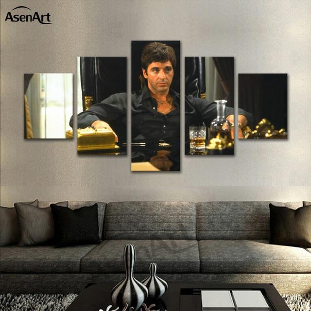 Calligraphy Wallpaper Iphone 5 Pieces Art Movie Star Al Pacino Pacino In Tony Montana