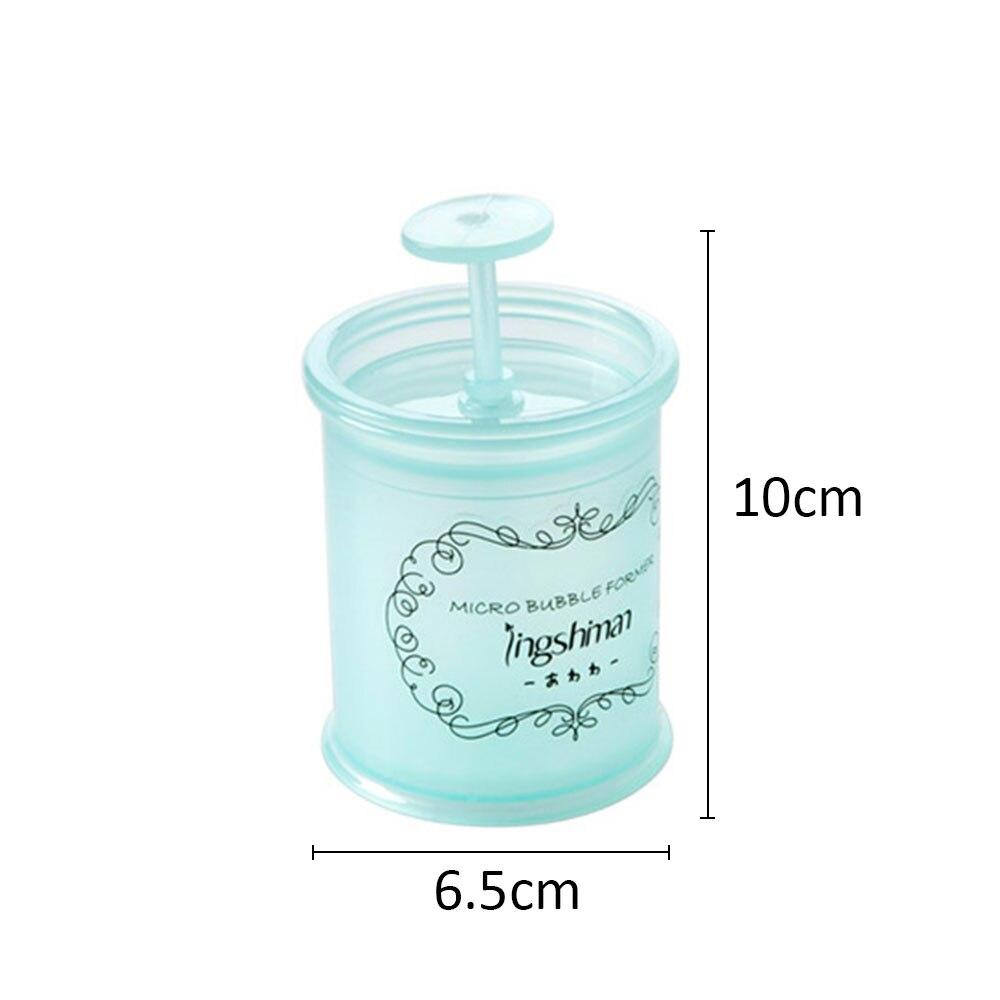 Пенообразователь устройство для мыльных пузырей Руководство по очистке лица 2 цвета PP практическое очищающее средство пенообразователь креативные уход за лицом
