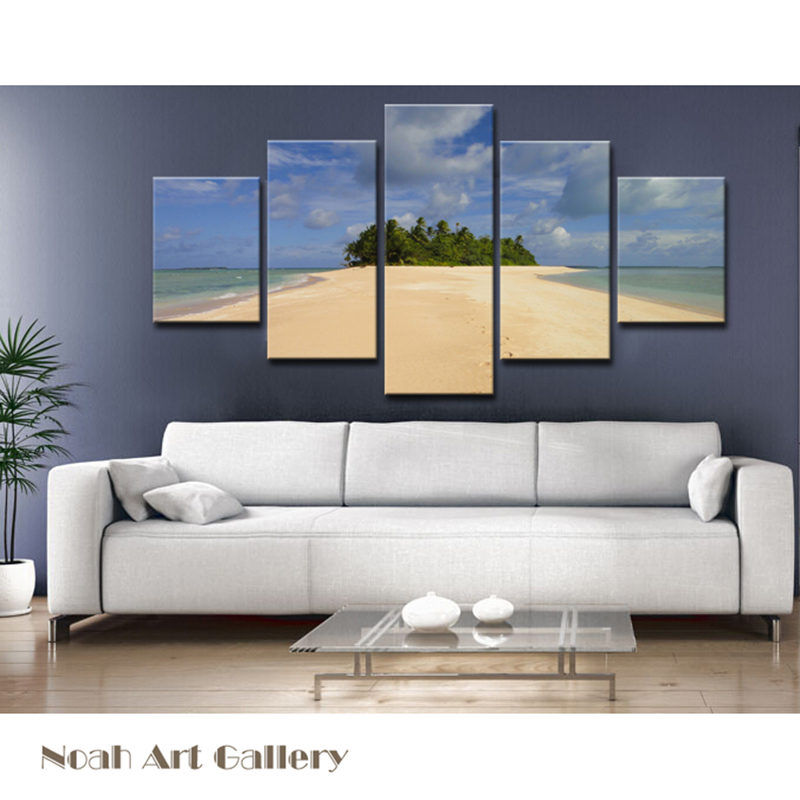 Sea landscape canvas print home decor wall art painting for Definition for mural