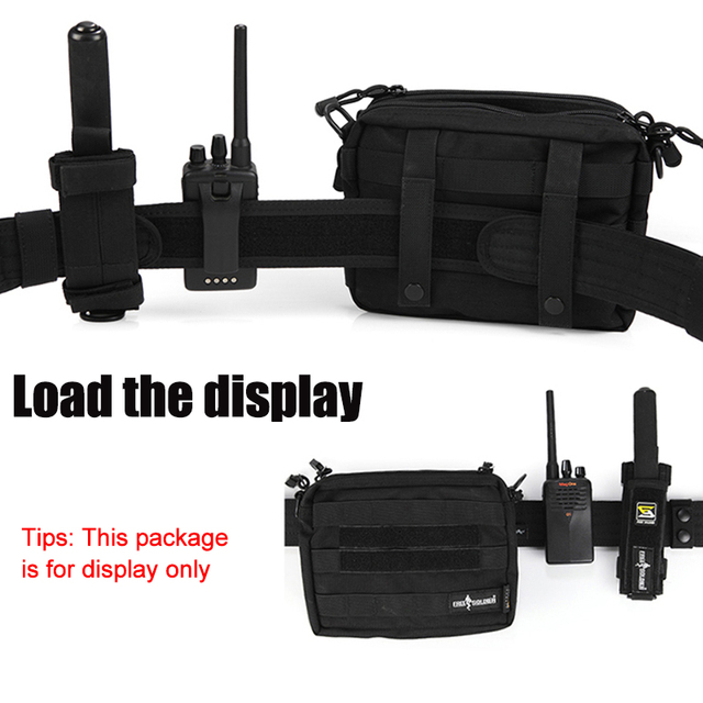 FREE SOLDIER Outdoor Sport Tactical Belt Accessories For Camping Hiking Molle Belt nylon Waist Belt For Men 6