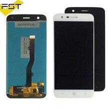 Черный/белый для zte V8 Lite ЖК-дисплей Дисплей + Сенсорный экран сборки Запчасти для авто аксессуары для мобильных телефонов + Инструменты + клей