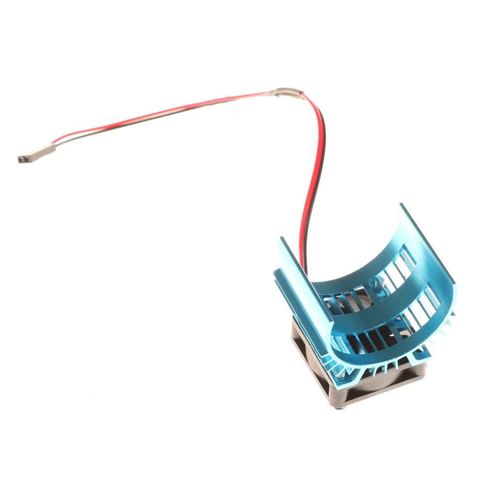 Motor Heat Sink w// Cooling Fan For 1//10 HSP RC Car Parts Motor 540//550//3650 C2Z2