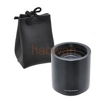 2x teleconverter 2.0x lente ampliação conversor para t t2 monte 420-800mm 500mm 800mm 900mm 650-1300mm tele