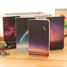 Korean Stationery Creative 80K Star Series Small Book Cute Little Notebook Beautiful Portable