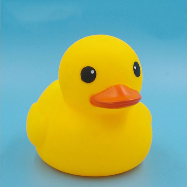 Big Size Yellow Rubber Ducky Duck Baby Bath Toys Classic Bathing ...