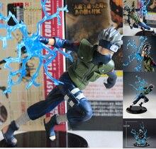 """Anime 16cm/6.2 """"PVC Figure Hatake Kakashi Naruto Shippuden srie Chidori Kit model"""