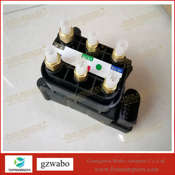 Q7 air suspension compressor 7L0698014 7P0698014 95535890300 solenoid block distribution valve to touareg to cayenne