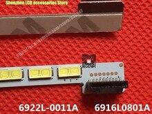 100% جديد ل 32 بوصة skyworth 32E600F LCD الخلفية شريط 6922l 0011a 6916l 0801a 6920l 0001c مع LC320EUN 1 قطعة = 42LED 403 مللي متر