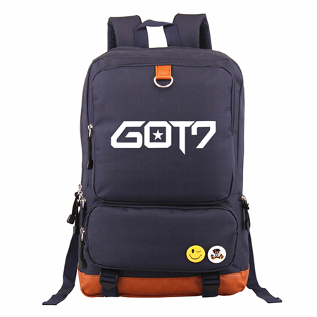 Men's Bags Luggage & Bags Wishot Seventeen 17 Backpack Canvas Bag Schoolbag Travel Shoulder Bag Rucksacks For Women Girls Keep You Fit All The Time