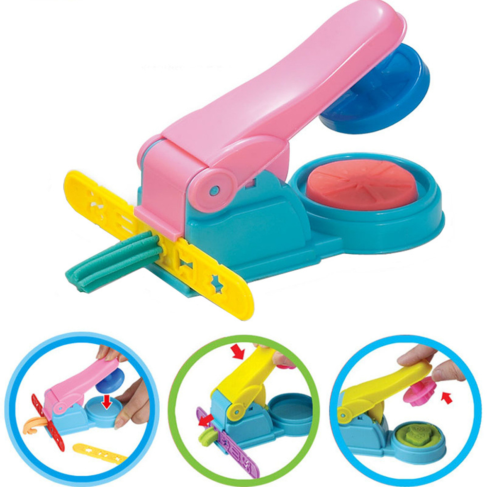 7pcs/set Polymer Clay Tool Kit Children Kids DIY Playdough Modeling Mould Clay Tool Kit Educational Toys For Girl's Gift