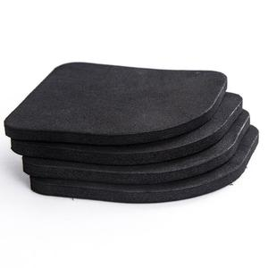 Image 2 - 4PCS/Set Black Rubber Leg Anti Vibration Non Slip Mat Refrigerator Chair Desk Feet Mats Washing Machine Shock Absorbing Pads