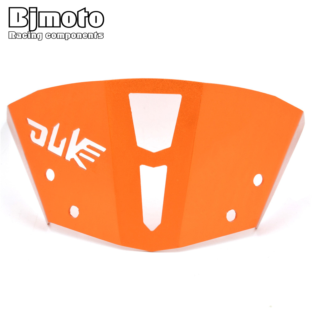 WS-KT001  2016 New Hot Orange Motorcycle CNC Windshield Windscreen For KTM Duke 390 2013-2016 Duke Dirt Bike