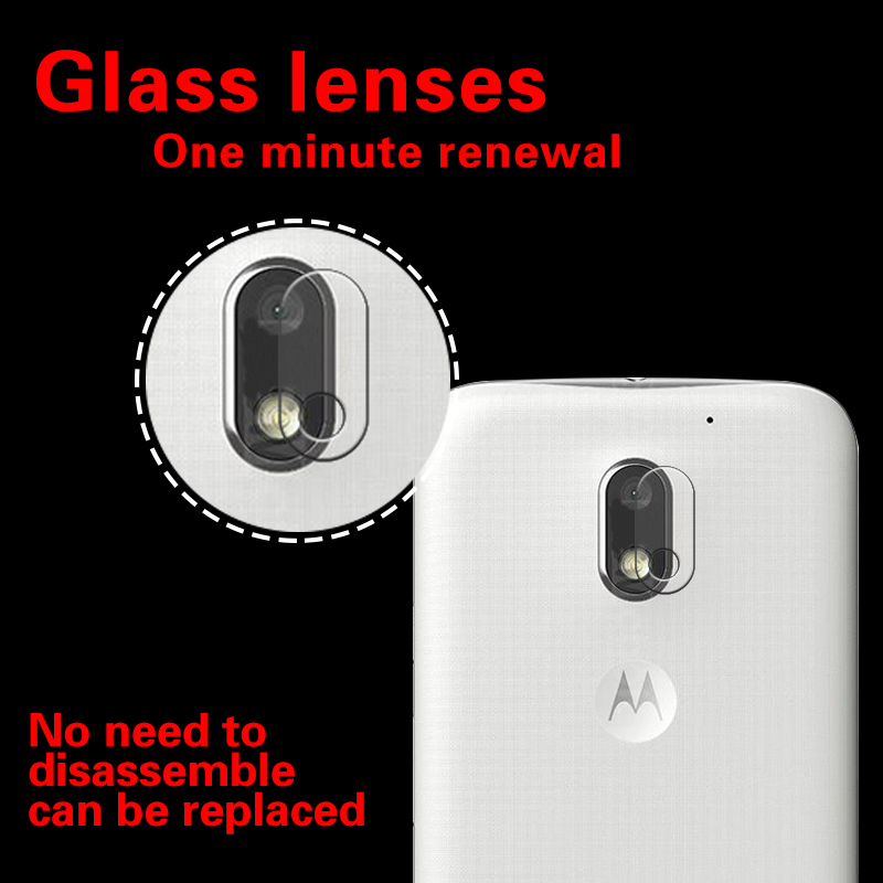 Accessory Back Camera Lens Screen Protector For Moto G4 Plus XT1644 Tempered Glass Full Cover Coverage Film Guard Sheild