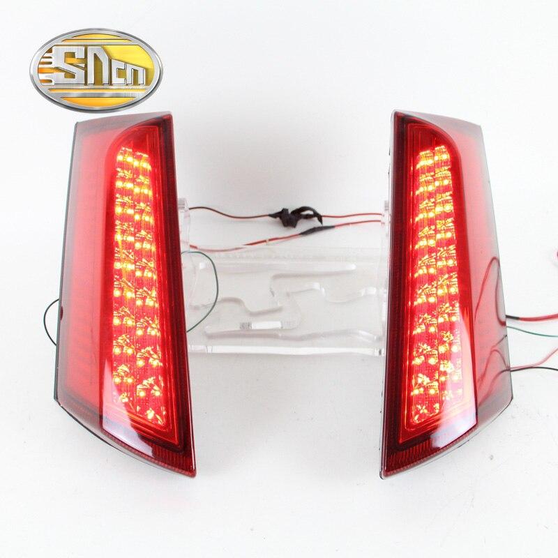 Для Форд ecosport 2013 2014 2015 2016 SNCN автомобиль водить хвост свет задний бампер свет тормоза СИД свет авто украшения лампы