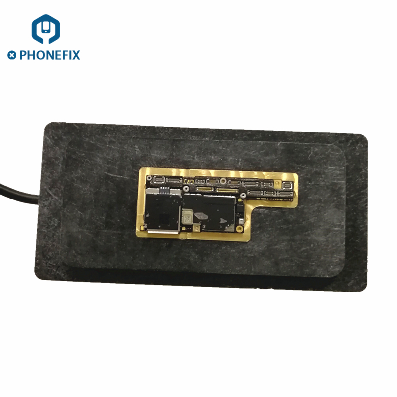PHONEFIX PPD120 Unsolder BGA Rework Station Copper Heating Plate for iPhone A8 A9 A11 CPU NAND IC Repair Welding Plate