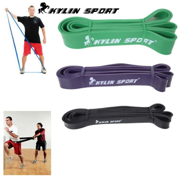 Free Shipping Nature Pure Latex Resistance Bands And Tubing in 3 size fitness power training strength