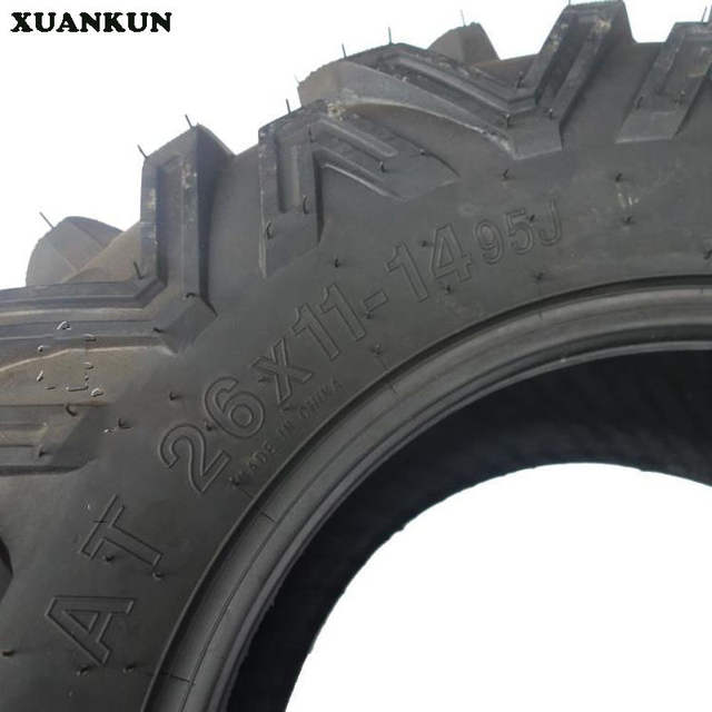Online Shop Xuankun Karting Atv 14 Inch Tire A Word Pattern 26x11 14