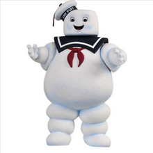 27cm Vintage Ghostbusters 3 Stay Puft Marshmallow Man Bank Sailor Action Figure Toy Dolls