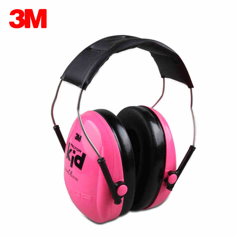 3M H510AK Children Baby Earmuffs Kid Noise Canceling Headphones Ear Protectors Hearing Protection Soundproof Anti-noise Ear muff