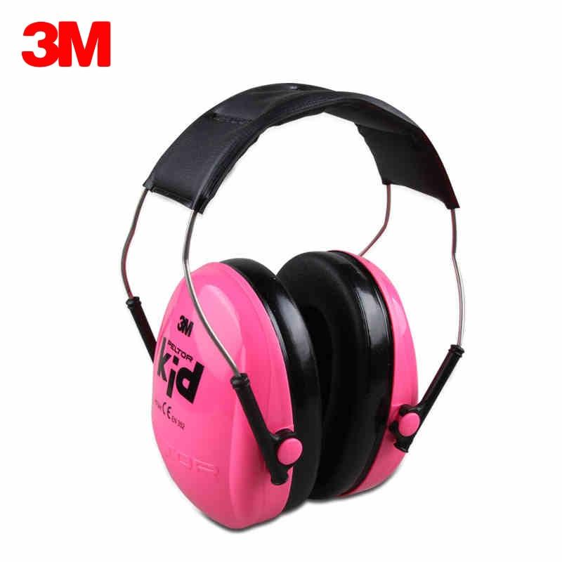 3M H510AK Children Baby Earmuffs Kid Noise Canceling Headphones Ear Protectors Hearing Protection Soundproof Anti noise Ear muff