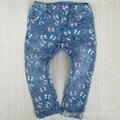 2015 детская одежда размер 9 М-36 М девочка джинсы дети джинсовые брюки