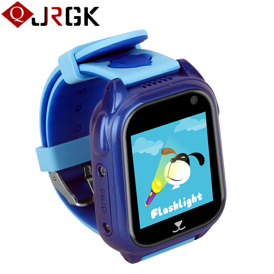 Buy kids kid watches smart watch with gps tracker baby child safety smartwatch for Watches with gps