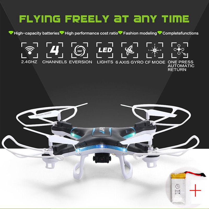 Jjrc H5p Quadcopter With Camera Long Time Flying Rc Helicopter Rc Drones Remote Control Toys For Children Rc Quadcopter Dron flying 3d fy x8 018 flying control unit for fy x8 quadcopter