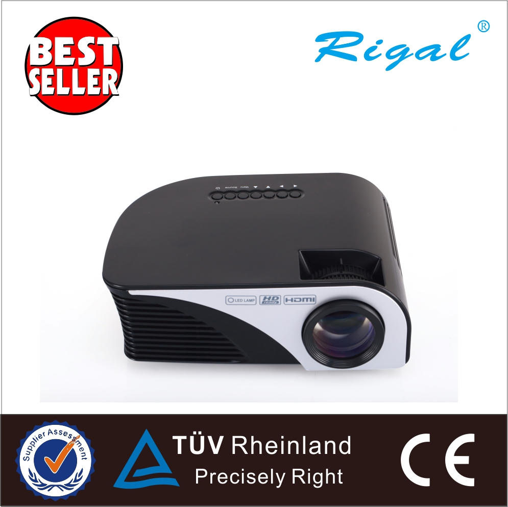 800*480 MINI LCD projector Android  WIFIh LED Smart 3D Portable Proyector 300inch Screen best selling products portable led mini smart projector