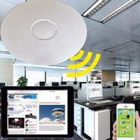 2019 new Ceiling Mount 300 Mbps Wireless Access Point PoE Access White KF APCP20N300M