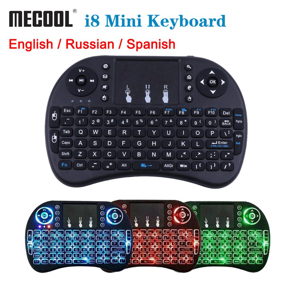 2.4G Mini Wireless Fly Air Keyboard Mouse Remote Touchpad For Android TV BOX// PC