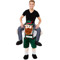 Novelty Ride on Me Funny Cosplay Oktoberfest Fancy Pants Fancy Mascot Dress Up Party Costume Fantasia Adult Childre Costume