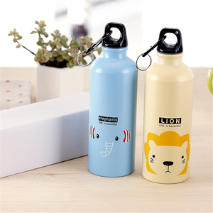 Image 4 - 500ml Cute Water Blttle Lovely Animals Outdoor Portable Sports Cycling Camping Hiking Bicycle School Kids Water Bottle
