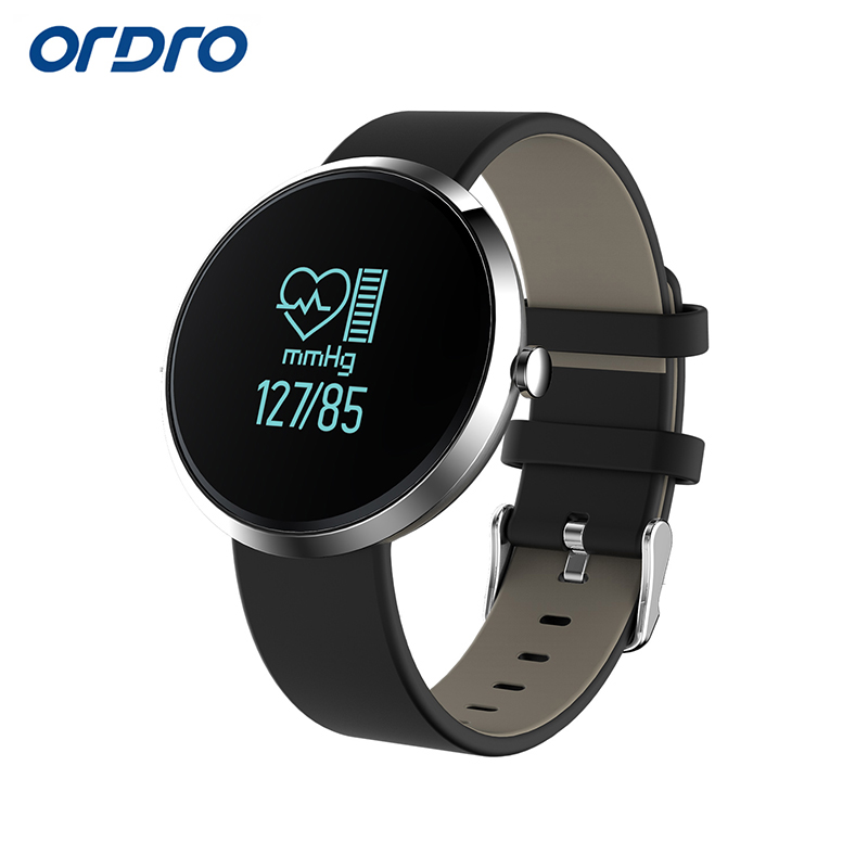 S10 Blood Pressure Tracker Wristwatch for Android IOS with Heart Rate Monitor Phone Call font b