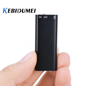 kebidumei 8G Mini Digital Audio Voice Recorder Dictaphone Stereo MP3 Music Player 3 in 1 8GB Memory Storage USB Flash Disk Drive