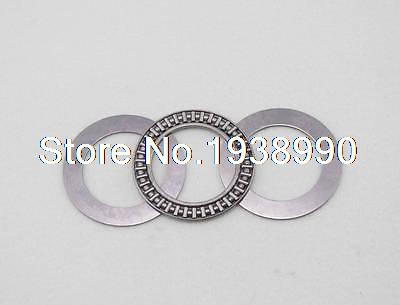 2pcs AXK7095 Thrust Needle Roller Bearing With Two Washers 70mm x 95mm x 3mm