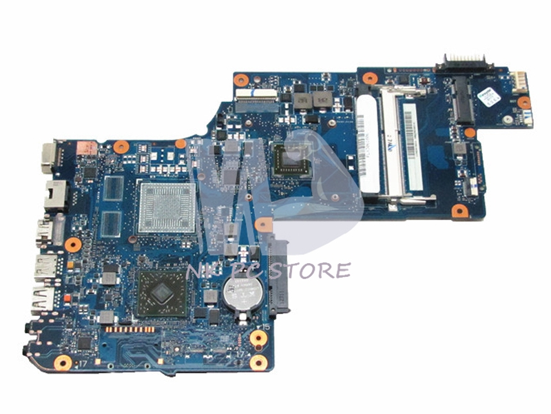 H000042820 Main board For Toshiba Satellite C870D L870D Laptop motherboard 17.3 inch E2-1800 CPU Onboard DDR3