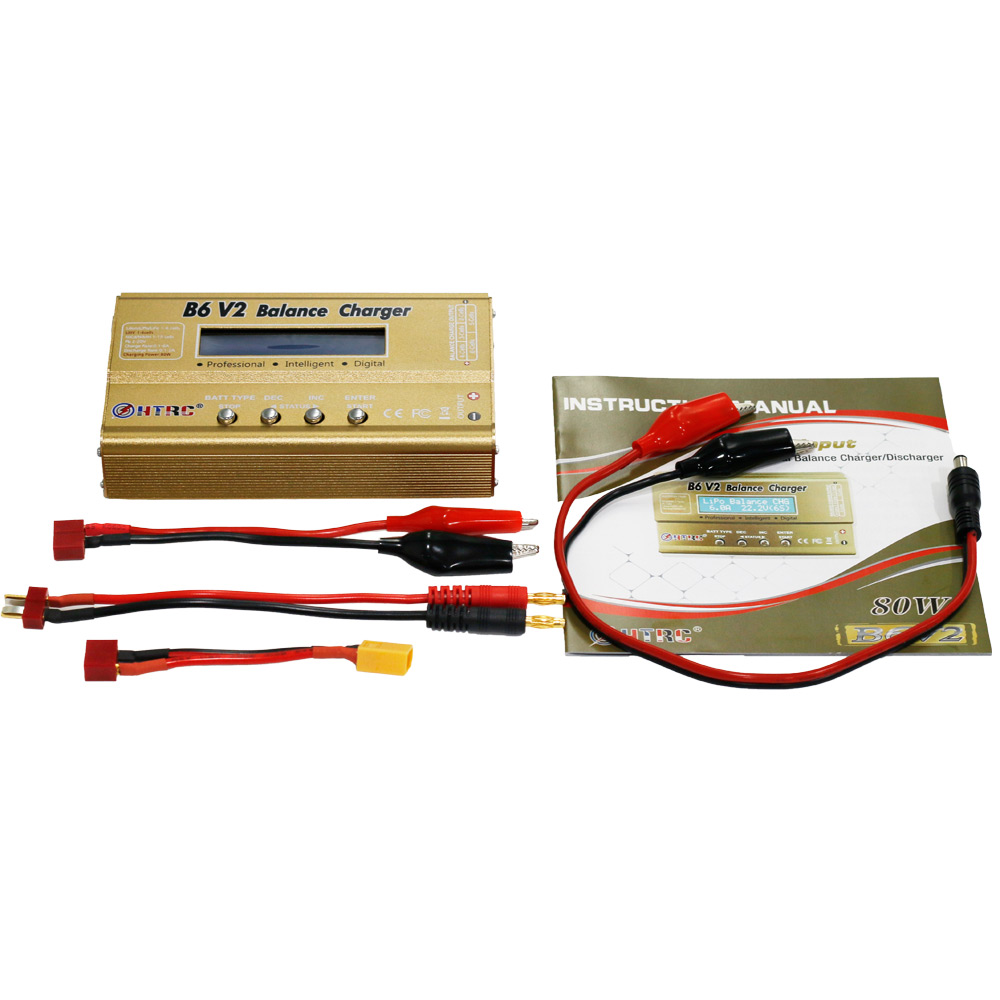 Htrc B6 V2 80w 6a Dc Rc Multi Charger For Lipo Liion Life Nicd Nimh Lihv Circuit