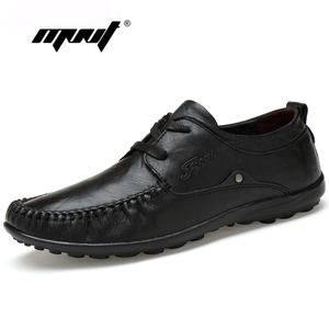 Genuine Leather Men Flats Shoes, Lace Up Men Mocassin, Two Style Men Shoes S,Handmade Men Summer Loafers Zapatos Hombre