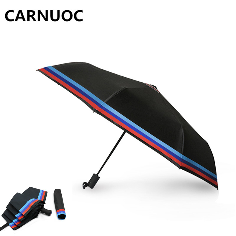 CARNUOC 99CM Windproof Automatic Umbrella For BMW E46 E60 E90 E30 E92 E93 F30 E36 E39 F15 F16 E85 E86 E34 E38 E53 X5 X3 M3 M5